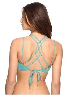 O'Neill Malibu Solids Halter Bikini Top