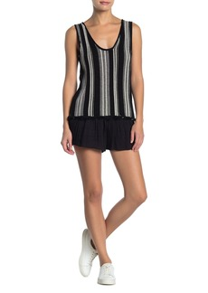 O'Neill Memphis Striped Scoop Neck Tank Top