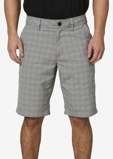 O'Neill Men's Horizon Plaid Short Shorts