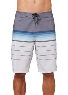 Men's O'Neill Hyperfreak Heist Stripe Board Shorts