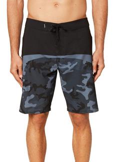 Men's O'Neill Hyperfreak Pattern Block Board Shorts