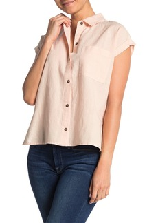 O'Neill Neena Cotton & Linen Shirt