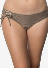 O'Neill Adely Lace-Up Cheeky Bikini Briefs Women's Swimsuit