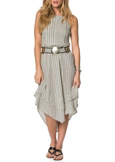 O'Neill Adia Handkerchief Hem Dress