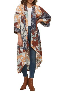 O'Neill Althea Tropical Floral Print Woven Duster