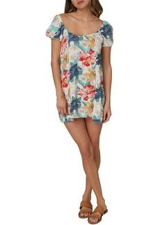 O'Neill Amalina Floral Print Minidress