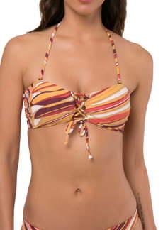 O'Neill Anacapa Printed Bandeau Bikini Top