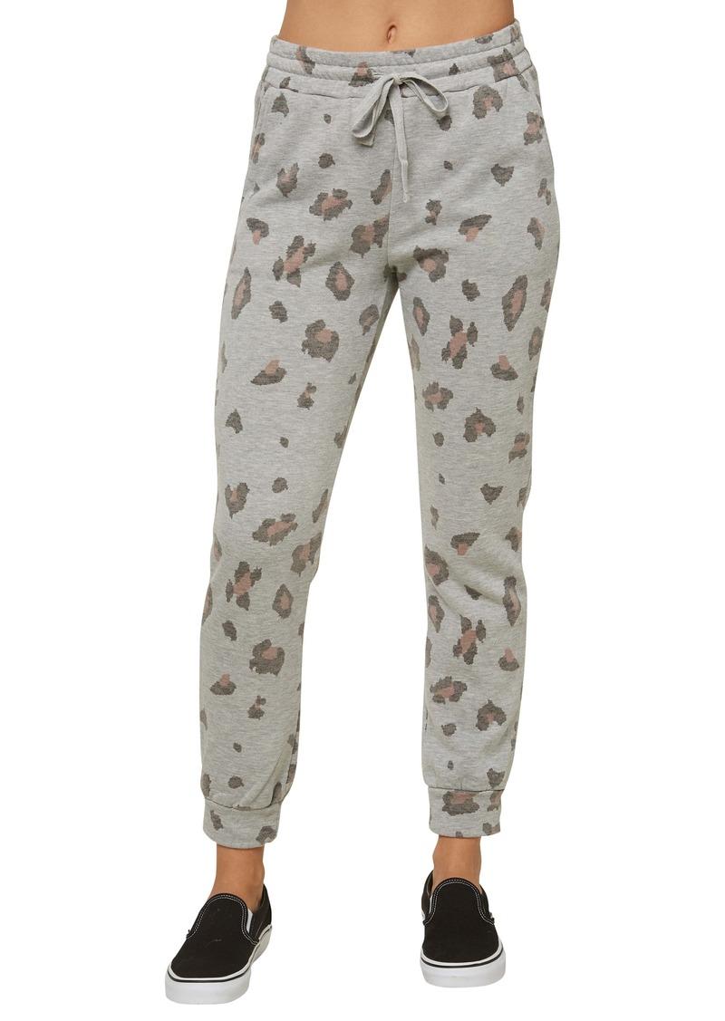 O'Neill Arrela Camo Fleece Sweatpants
