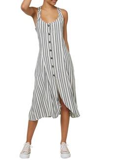 O'Neill Asher Stripe Midi Dress