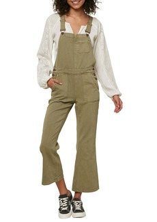 O'Neill Audra Crop Flare Overalls