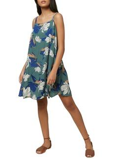 O'Neill Azalea Floral Print Minidress