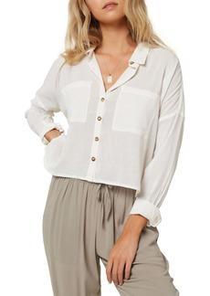 O'Neill Barlea Stripe Button-Up Shirt