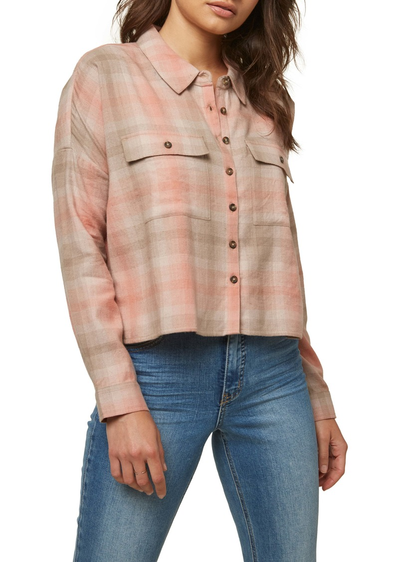 O'Neill Borrego Long Sleeve Button-Up Shirt