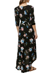 O'Neill Boyce Floral High/Low Maxi Dress