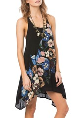 O'Neill 'Brenna' Floral Print Swing Dress
