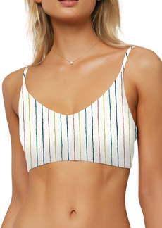 O'Neill Bridget Stripe Bralette Bikini Top