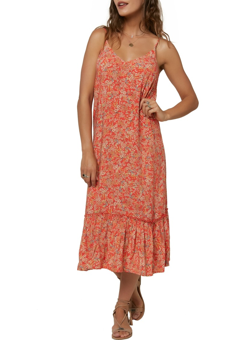 O'Neill Byron Floral Midi Camisole Dress