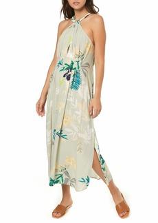 O'Neill Byronne Floral Print Woven Midi Dress