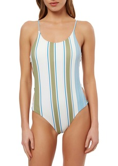 O'Neill Carly Stripe One-Piece Swimsuit