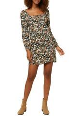 O'Neill Cassidy Long Sleeve Minidress