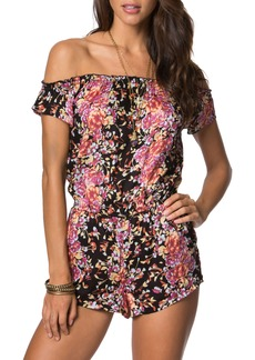 O'Neill Celinda Off the Shoulder Romper