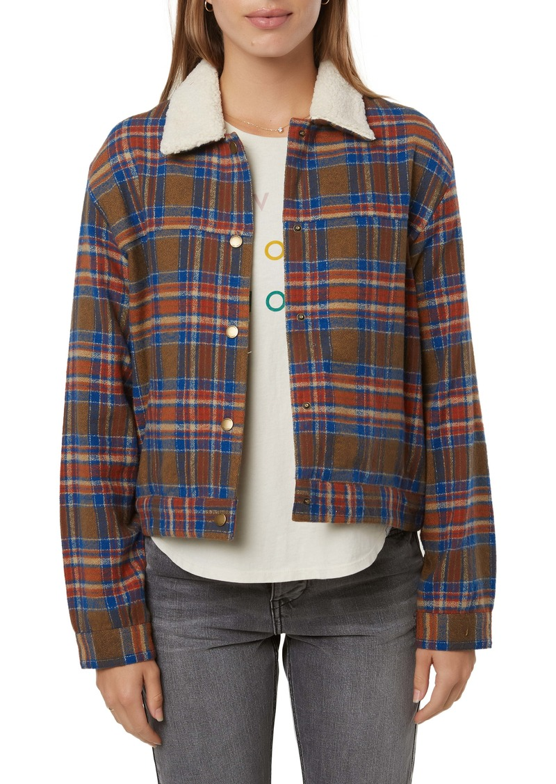O'Neill Chalet Faux Shearling Collar Jacket