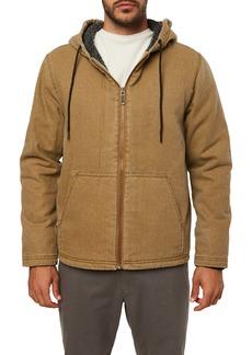 O'Neill Chapman Fleece Lined Hooded Jacket