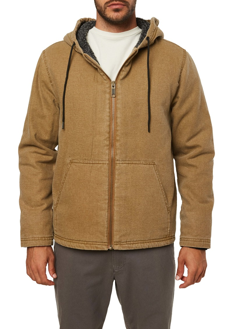 O'Neill Chapman Fleece Lined Hooded Jacket