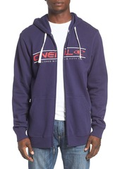 O'Neill 'Collect' Graphic Zip Hoodie