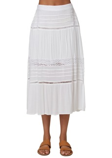 O'Neill Cora Lace & Ladder Trim Skirt