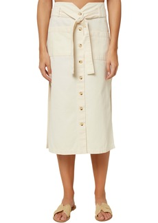 O'Neill Davey Belted Midi Skirt
