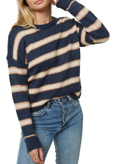 O'Neill Daze Stripe Crop Sweater