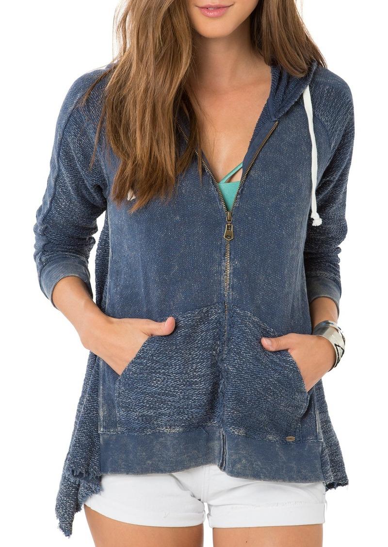 O'Neill 'Dew' Zip Cotton Hoodie