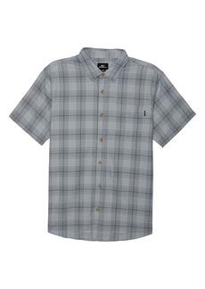 O'Neill Dialed Short Sleeve Button-Up Shirt (Big Boy)