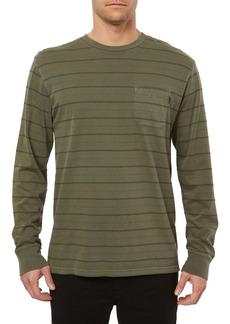 O'Neill Dinsmore Stripe Long Sleeve Pocket T-Shirt