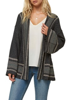 O'Neill Doheny Bell Sleeve Belted Cardigan