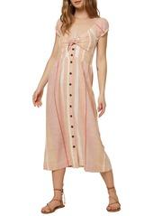 O'Neill Elijah Woven Midi Dress