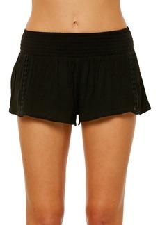 O'Neill Elise Crochet Trim Shorts