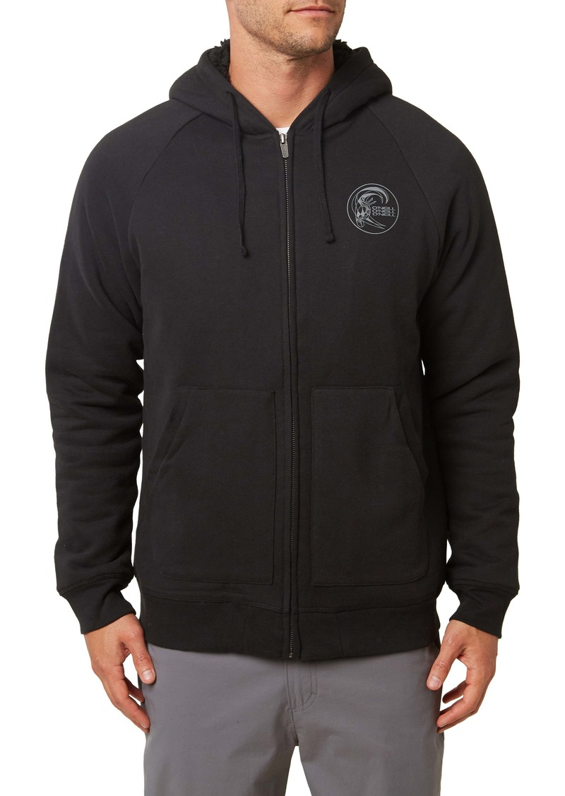 O'Neill Establishment Fleece Lined Zip Hoodie