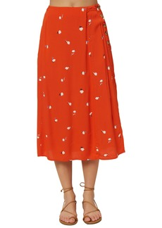 O'Neill Familia Floral Midi Skirt