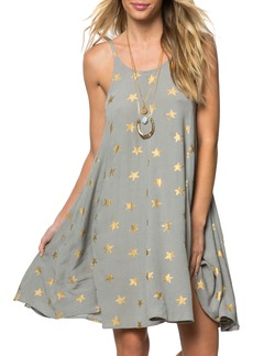 O'Neill Faye Star Print Dress