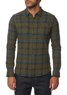 O'Neill Fisher Plaid Knit Shirt