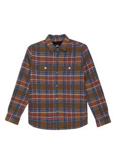 O'Neill Flanders Fleece Lined Flannel Jacket (Big Boy)