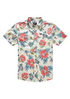 O'Neill Foundation Short Sleeve Button-Up Shirt (Big Boy)