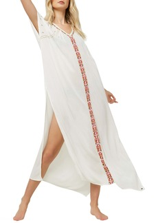 O'Neill Frankie Cover-Up Cold Shoulder Caftan