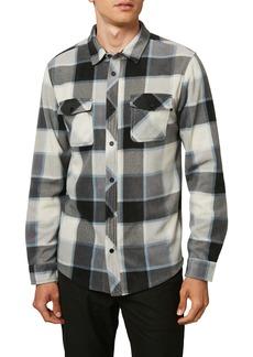 O'Neill Glacier Plaid Button-Up Shirt