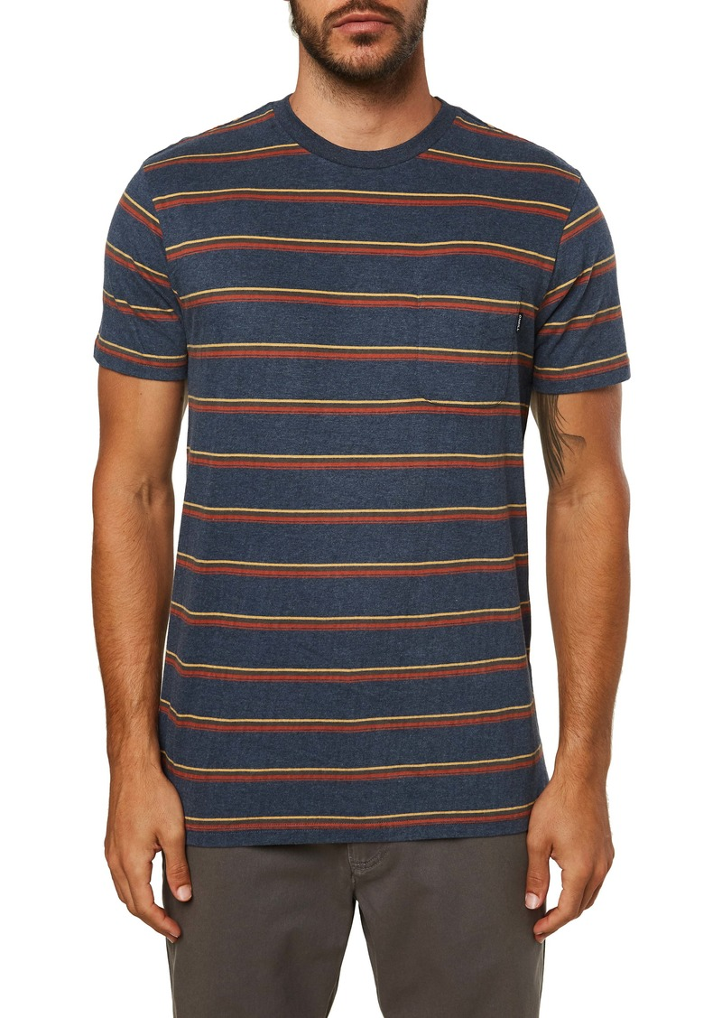O'Neill Goathill Stripe Pocket T-Shirt