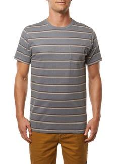O'Neill Goathill Stripe Pocket T-Shirt