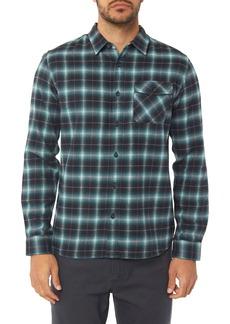O'Neill Graham Shadow Check Flannel Shirt