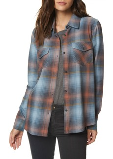 O'Neill Hansen Plaid Top